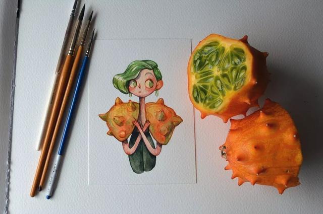 水果作品图片大全