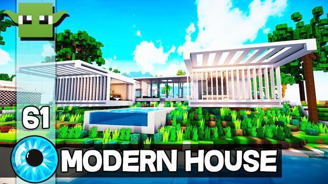 我的世界现代大别墅