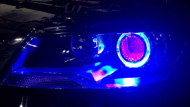 改装车灯合法范围?