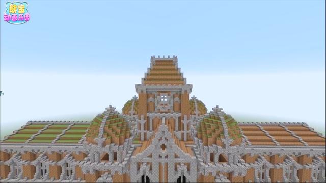 我的世界Minecraft建造巨型的城堡_手机乐视视频