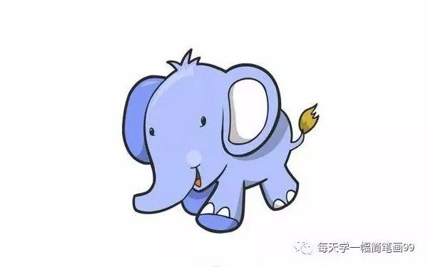 大象卡通图片大全