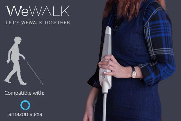 为盲人设计的智慧手杖诞生