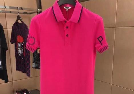 巴宝莉男装2016年秋季新款长袖T恤
