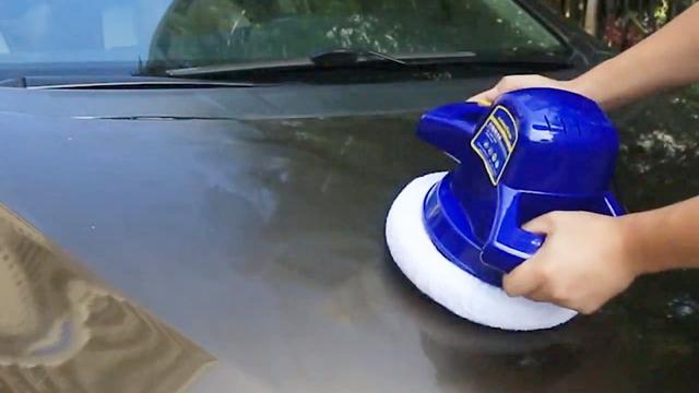 汽车的专业美容师——固特异打蜡机,让你每天开新车!