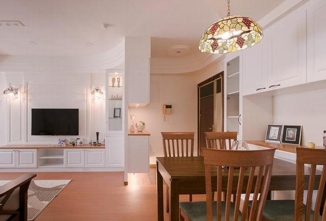 田园风格二居室80平米设计图_齐家网装修效果图