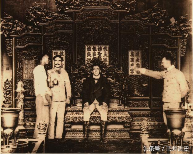 奇耻大辱的老照片,八国联军竟然在紫禁城内搞阅兵