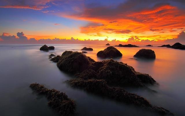 日出图集 早晨的阳光照在你的身上不如起床去拍下着最美的风景
