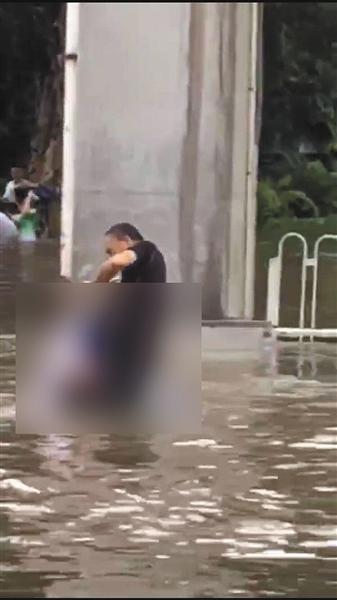 广东中山台风图片