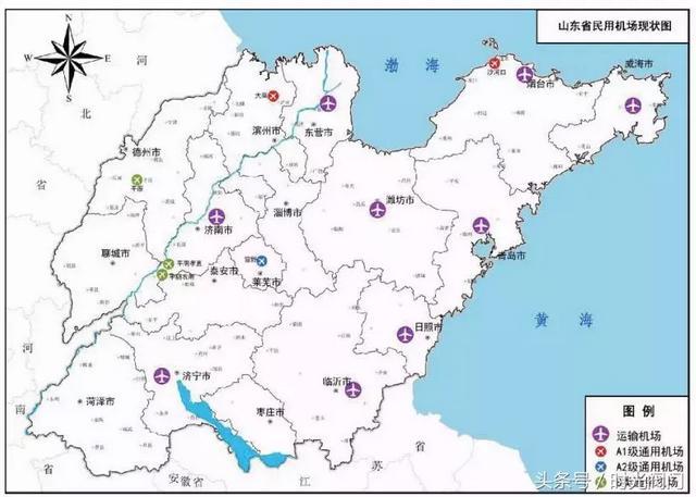 东营将新建6个机场:河口、利津、广饶、垦利都有