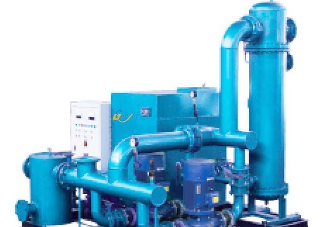 日产300吨热水的锅炉