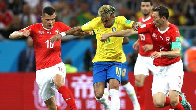 世界杯巴西瑞士比分