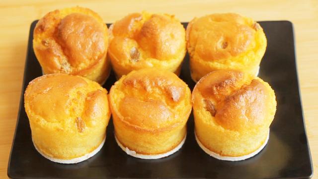 教你做簡單粗暴的小蛋糕,無糖無油,攪一攪,拌一拌,松軟香甜