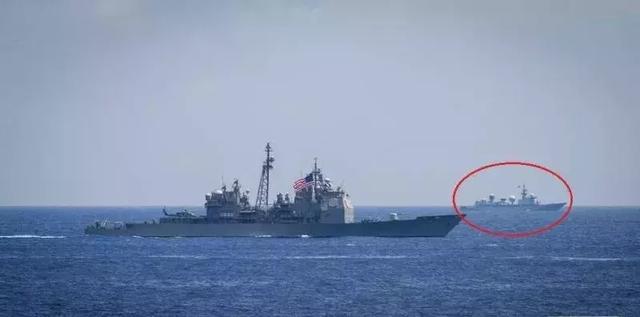 中国电子侦察船什么名字