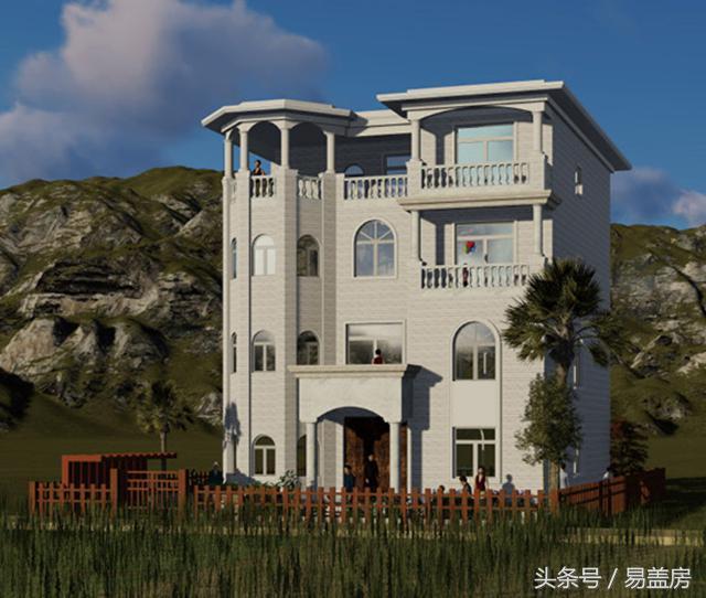 2021豪华古堡式别墅设计图-装信通网效果图大全