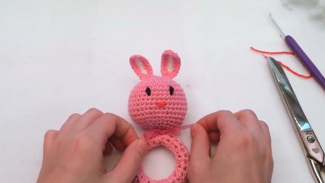 鉤織小兔子玩偶