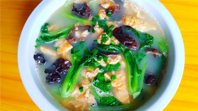 猪肝蛋汤的做法