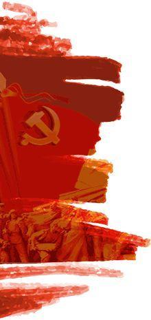 央视大型文献纪录片《旗帜》第三集 建国创业_十集大... _央视网