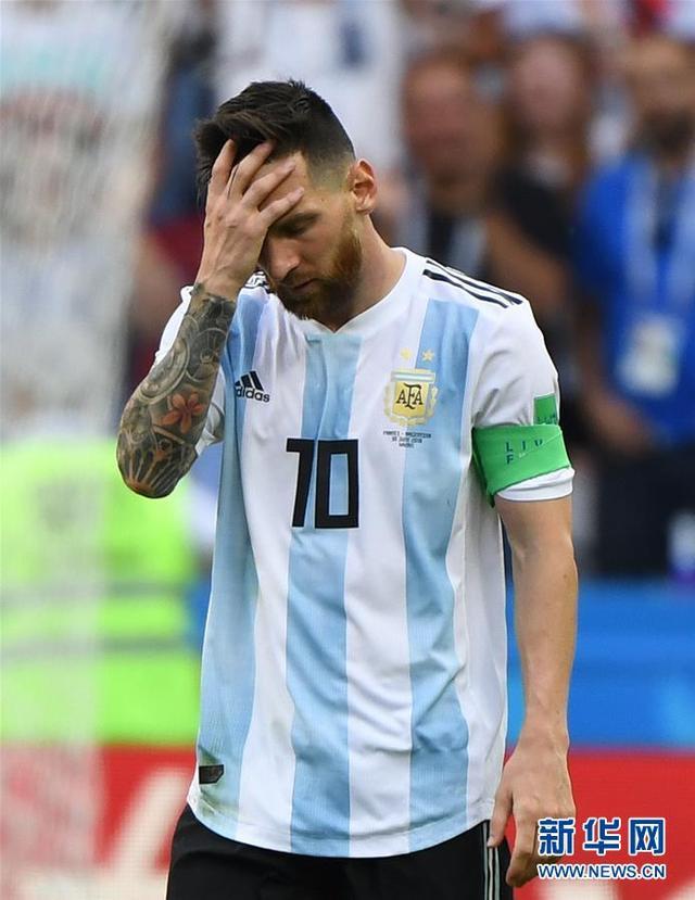 四届世界杯 梅西永远的痛
