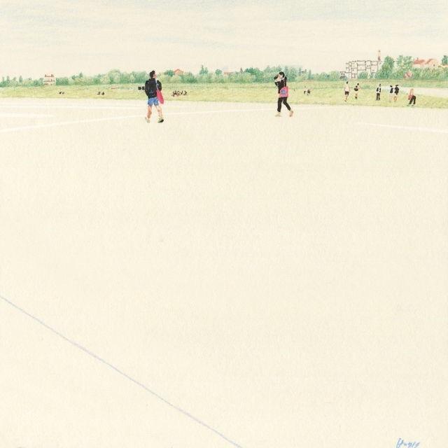 优秀夏天儿童画作品-美丽的夏天 - 5068儿童网