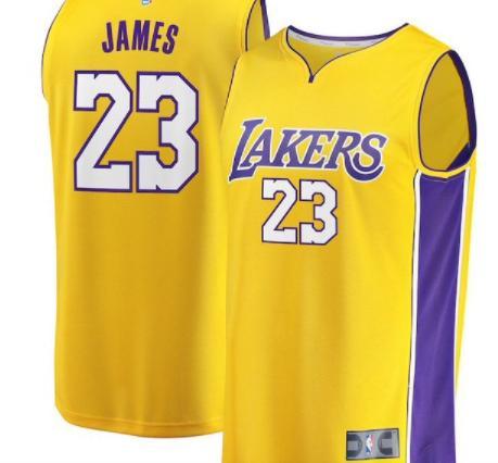 詹姆斯湖人23號球衣