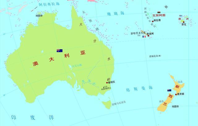 澳大利亚和新西兰国旗,你能认出来吗?