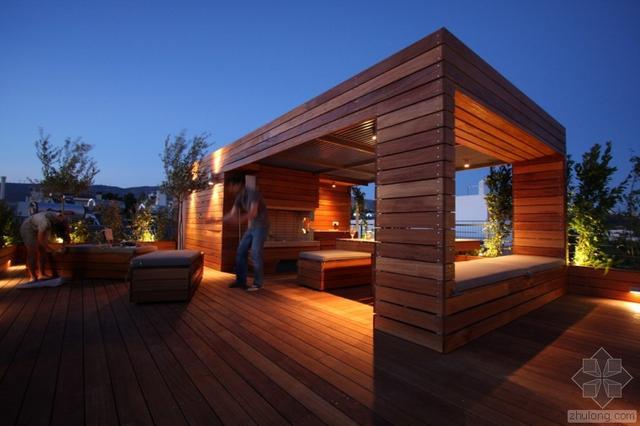樓頂露臺怎樣搭建花園