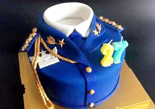 6款高顏值的翻糖蛋糕,軍裝帥氣、多肉逼真!圖6古風美人太驚艷!