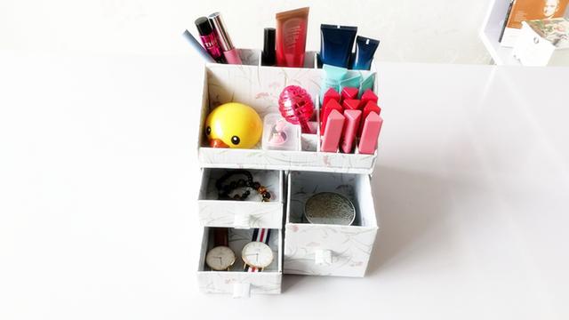 自做化妝品收納盒