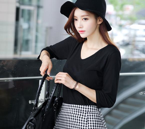 雪纺衫女衬衫显瘦2019新款韩版宽鬆百搭中袖雪纺衬衫短袖洋派上衣