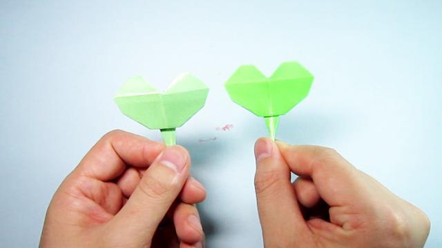 手把手教你折纸叶子,简单一学就会的漂亮银杏叶折法