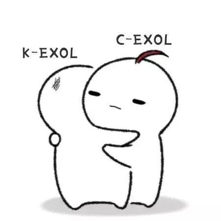 EXO人物手绘图:有喜欢EXO的可以进来看看呀