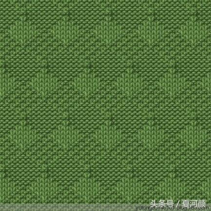 「针织图解」3款毛衣编织图案