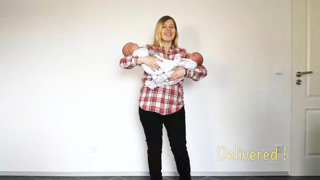 【图】双胞胎大肚子孕妇图 教你如何怀上双胞胎(2)_双胞胎大...