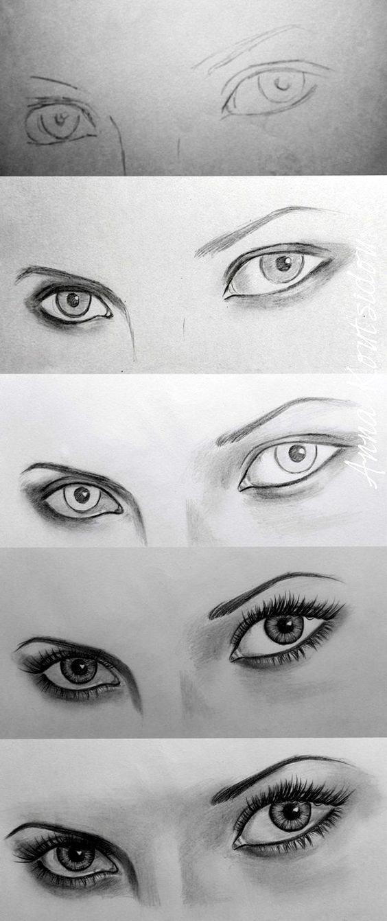新手画眼睛