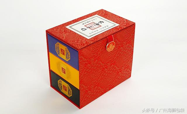 定制礼盒茶叶包装盒十罐装迷你茶盒小罐茶包装抽屉... -bilibili