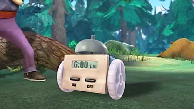 光头强把初级金刚升级成终极金刚,带着机器人征服全世界,做梦啊