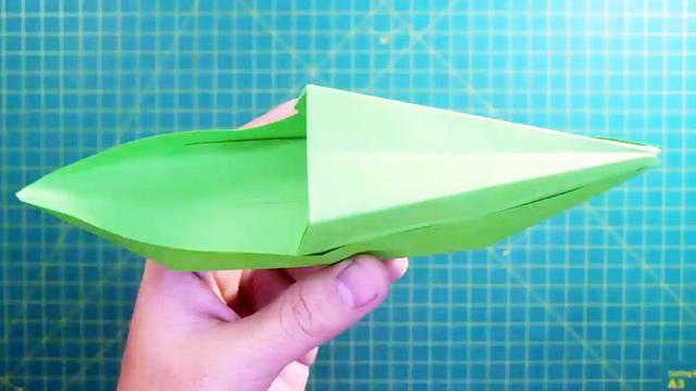 手工纸船幼儿