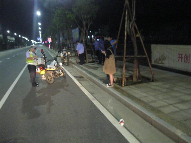少女深夜被摩托车撞飞,肇事司机逃逸5天后被抓!