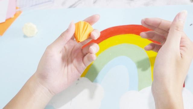 儿童手工折纸,钻石怎么用纸折简单又漂亮?这款折法教程值得收藏