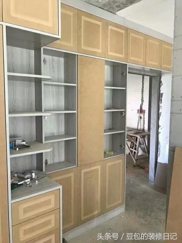 木工免漆板衣柜效果图