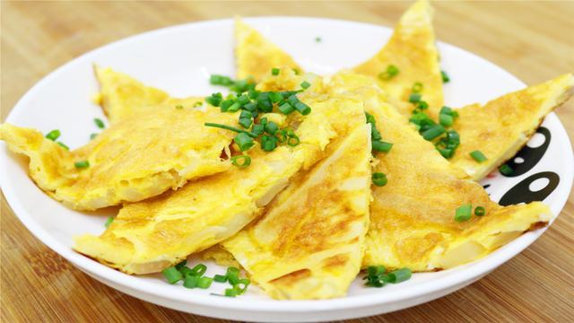 肉松鸡蛋饼图片