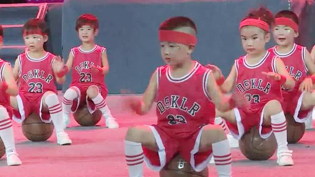幼儿篮球宝贝音乐