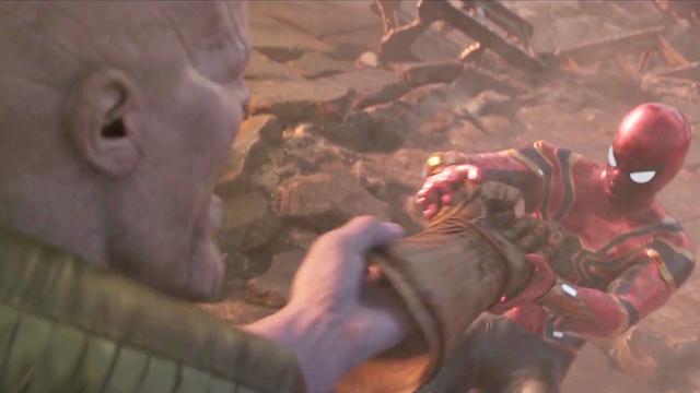 《复联3》无限手套有多强?蜘蛛侠被化为粉末,与钢铁... _海峡网