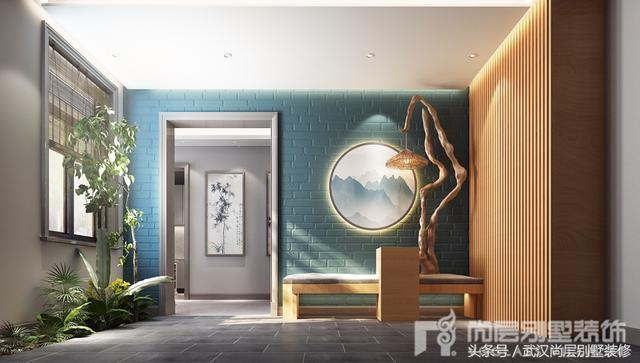尚层装饰700平新中式装修案例赏析-完美演绎新中式风格的古韵新姿
