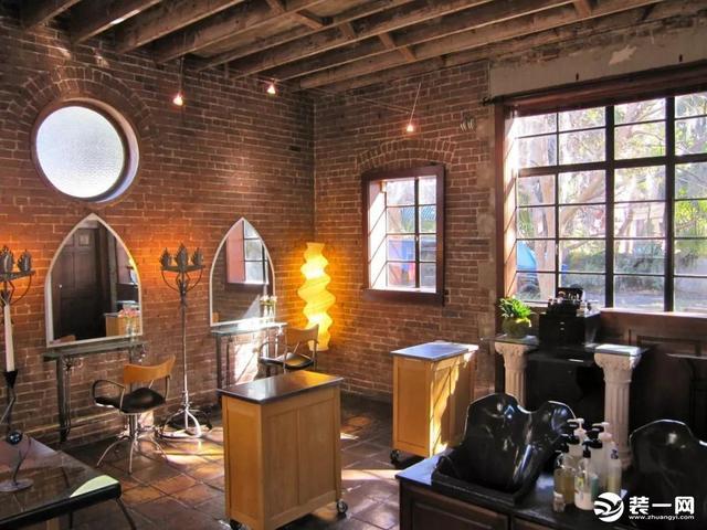 理发店背景墙图片-理发店背景墙素材-包图网