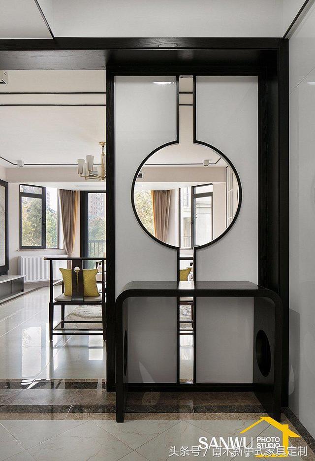 新中式客厅装修效果图 新中式家具沙发
