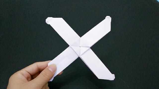 三叶回旋镖怎么折图解
