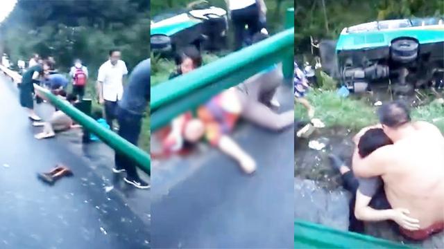 京昆高速陕西段发生大客车碰撞隧道事故 36人死亡_浙江新闻官网