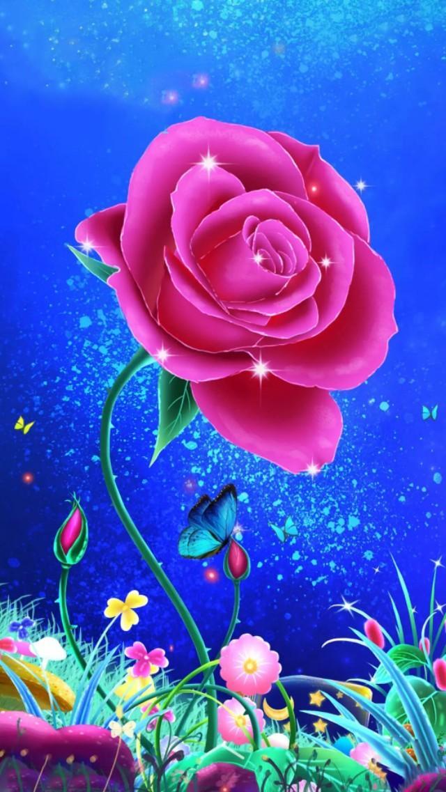 手机壁纸高清全屏花朵