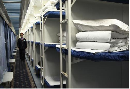 硬卧行李架